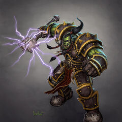 Thrall, Warchief of the Horde.