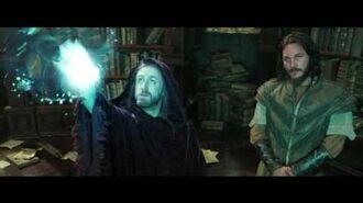 Warcraft - Medivh Finds Khadgar - Own it 9 27 on Blu-ray