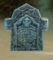 A Conspicuous Gravestone