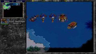 Warcraft 2 TOD hardcampaign - human 4