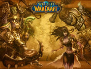 Wrath of the Lich King Kalimdor loading screen