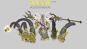 Azshara Naga with Tentacles