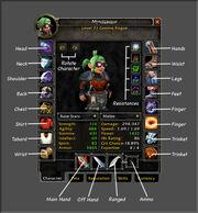 Char info window