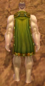 Archer's Cloak, Dirt Background, Human Male