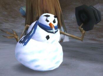 Strange Snowman