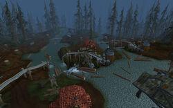 Blue Sky Logging Grounds