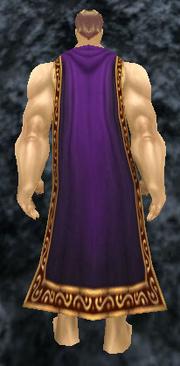 Regal Cloak, Stone Background, Human Male