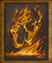 Lesser Elemental Fire art