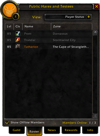 Guild-Roster tab 4 1 13850