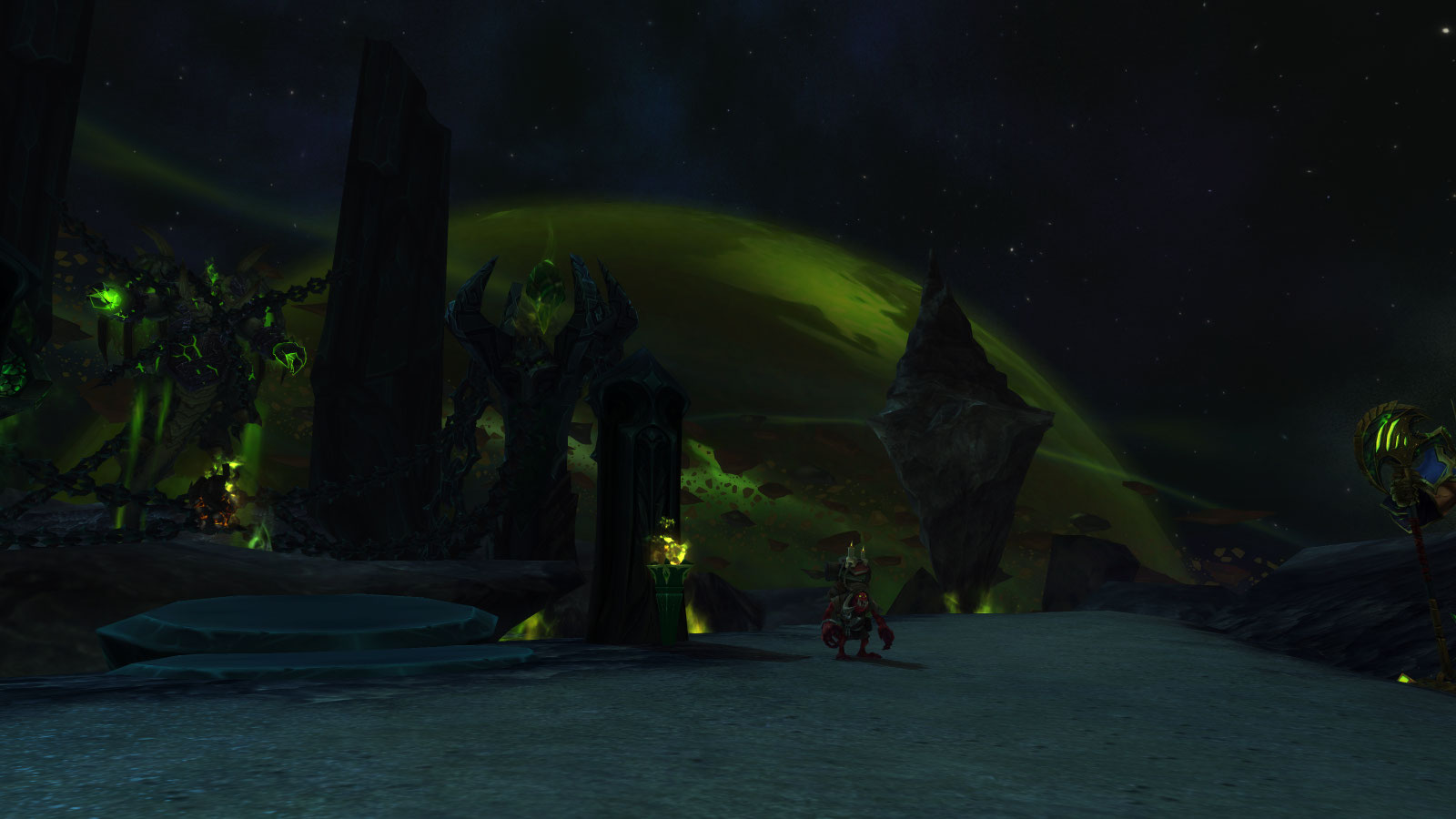 how to get to dreadscar rift