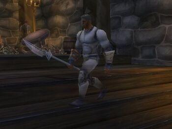 Wailing Guardsman