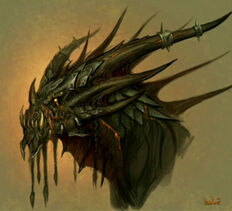 Deathwing head concept art