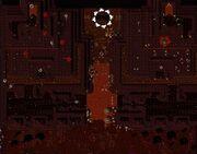Black temple (skeleton map)