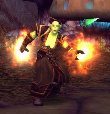 Burning Blade Invoker