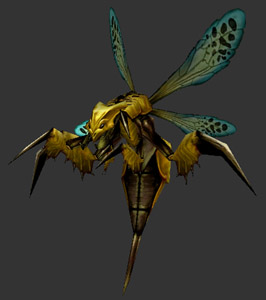 Silithid wasp yellow
