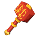 Lavaforged War Hammer Mega Bloks