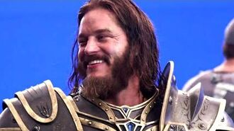 WARCRAFT Featurette - Anduin Lothar (2016) Epic Fantasy Movie HD