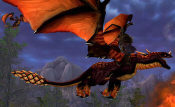 Dragonmaw Black Drake