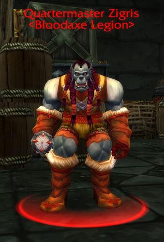 Quartermaster Zigris