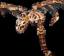 Skeletal wind serpent