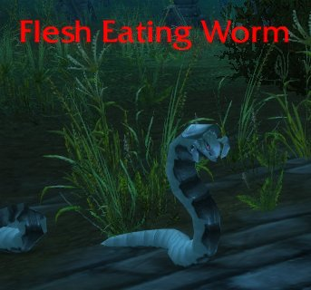 Flesh Eating Worm
