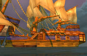 Pirate Ship Timeless Isle