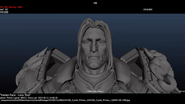 Legion cinematic - making King Wrynn come to life 13