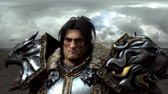 Legion cinematic - making King Wrynn come to life 10