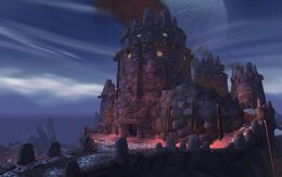 Shadowmoon Valley stone fortress