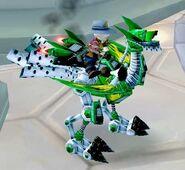 Swift Green Mechanostrider