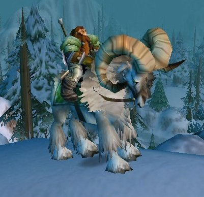 Wow mounts with multiple riders