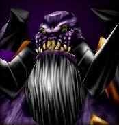 Magtheridon's face