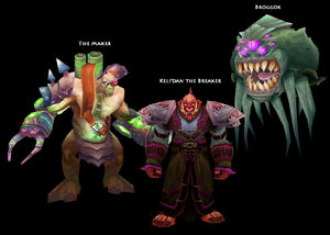 Blood Furnace bosses