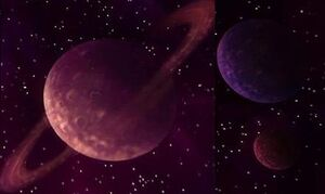 Great Dark Outer Space Planets