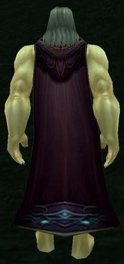 Hateful Gladiator's Cloak of Dominance, Grass Background, Human Male