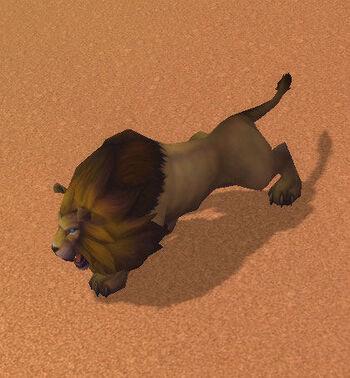 Salhet's Lion