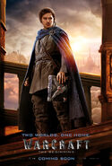 Warcraft movie poster - Khadgar