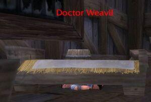 Doctor Weavil underbed