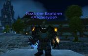 Fozz the Explorer