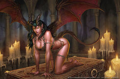 Succubus by arsenal21-d5b0r51