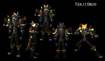 Tier 12 Druid Armor