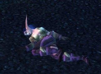 Night Elf Corpse