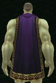Nightsky Cloak, Grass Background, Human Male