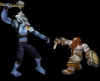 Frostmane fight