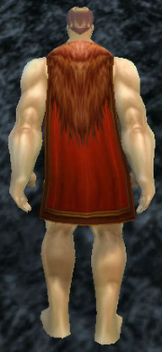 Sanguine Cape, Stone Background, Human Male