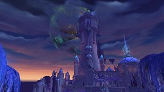 Argus over Suramar City