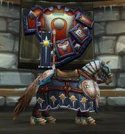 Crusader's Black Steed