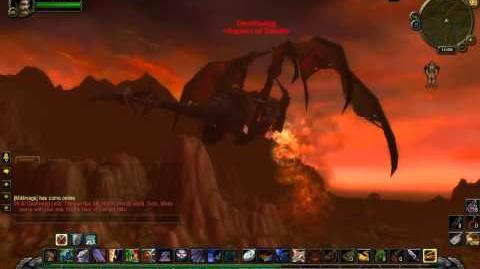Deathwing flyover world event