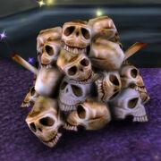 Bleached Skullpile