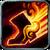 Spell fire burningspeed
